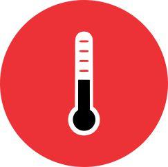 Алюминиевые радиаторы отопления обладают высокой теплоотдачей до 210°С при ∆t=70°C